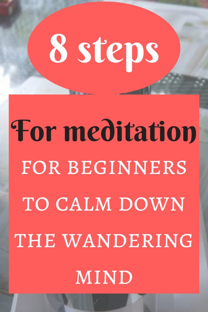 Meditation is habit. Learn with these steps.