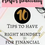 How to prosper financially with right mindset