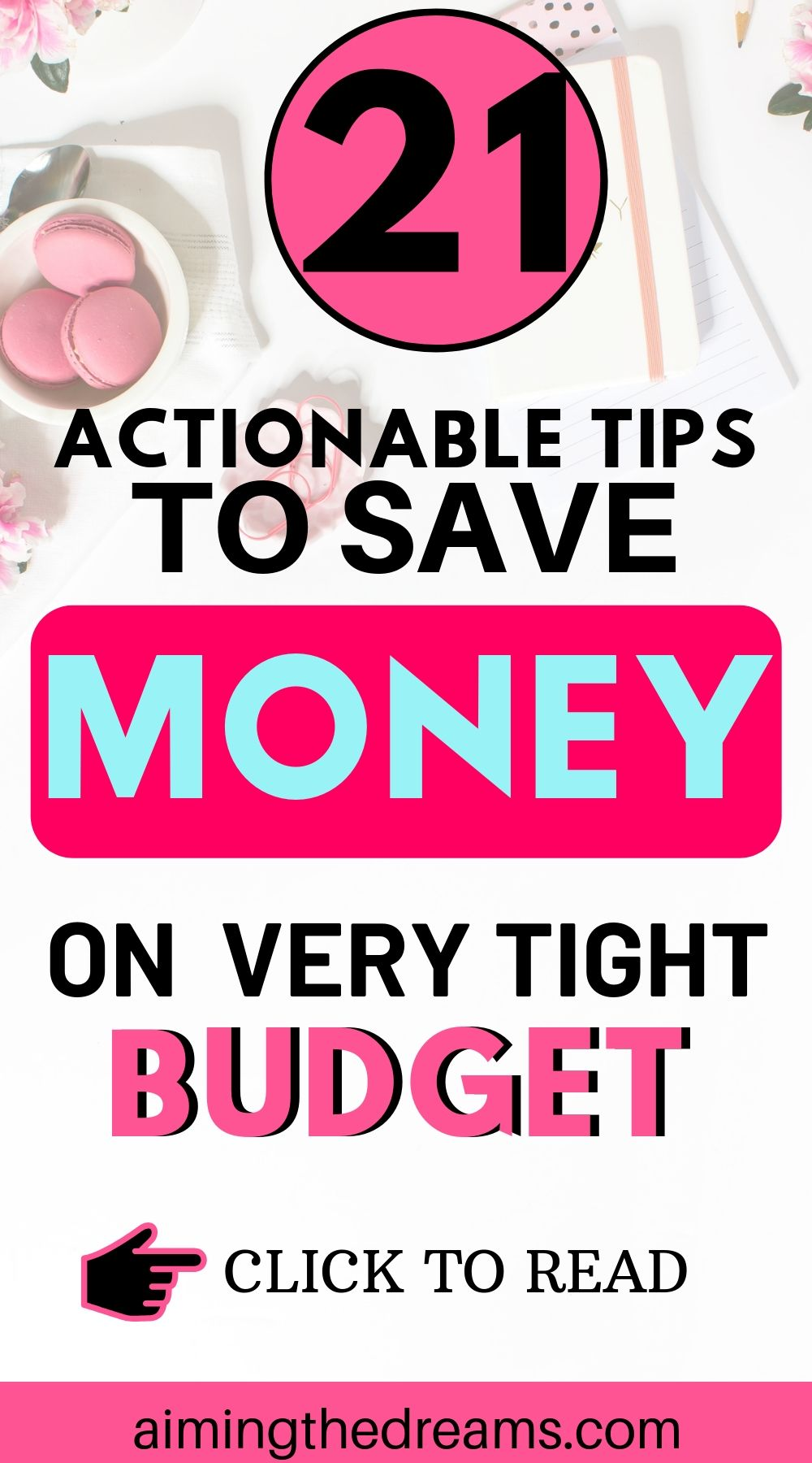 21 tips to save money on very tight budget