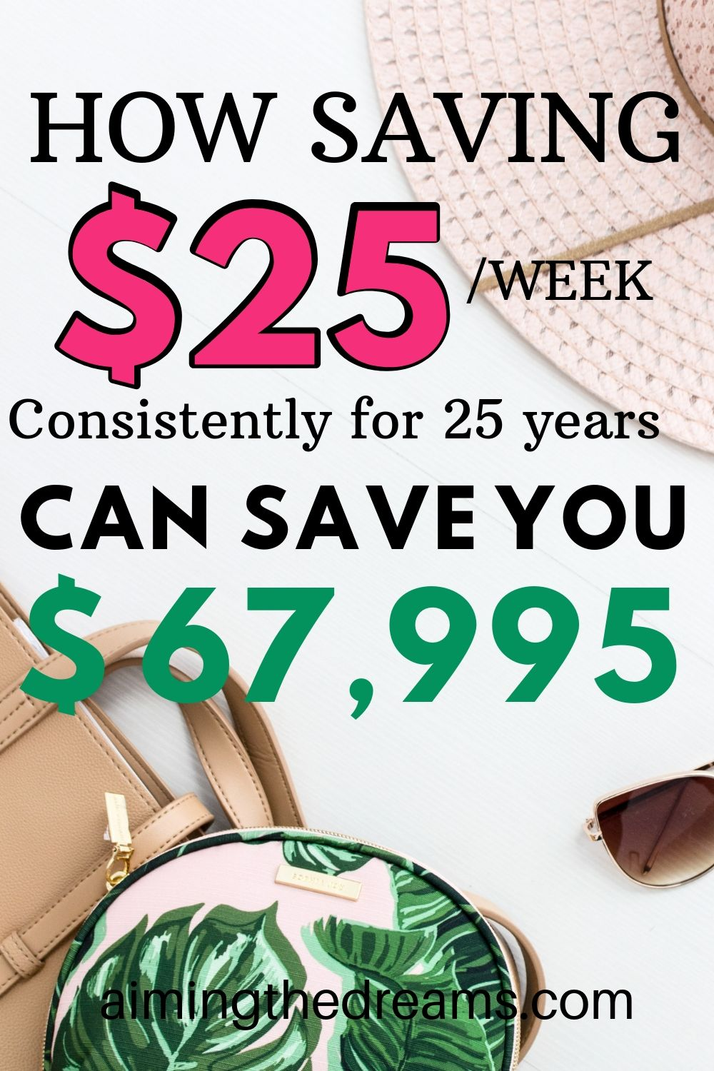 How saving $25 each week can save you lot of money in few years