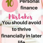 How to fix personal finance mistakes you make in  20's and regret