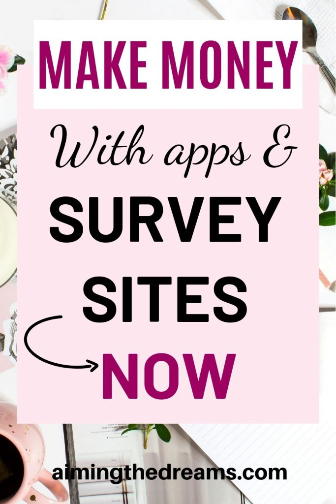 HOW TO SAVE MONEY WITH APPS AND SURVEY SITES