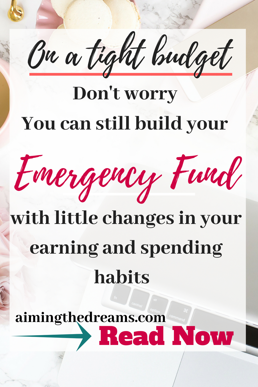 You need to build your emergency fund. It is a necessity not a luxury.