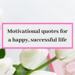 21 quotes you need to live a happy successful life