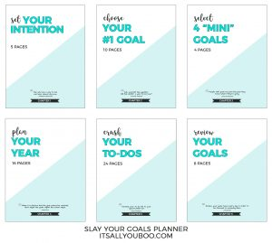 Slay your goals with planning and slaying your goals