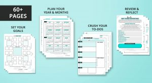 Plan yur intentions and goals and slay them with this planner