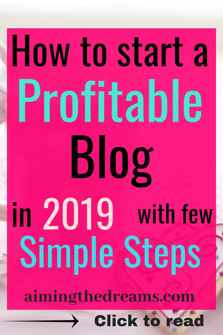 #How to #start a #profitable #blog with few steps to #make #money. Click to read