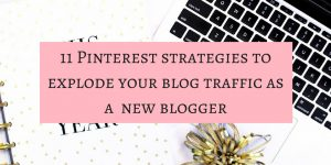 Pinterest strategies to grow blog traffic