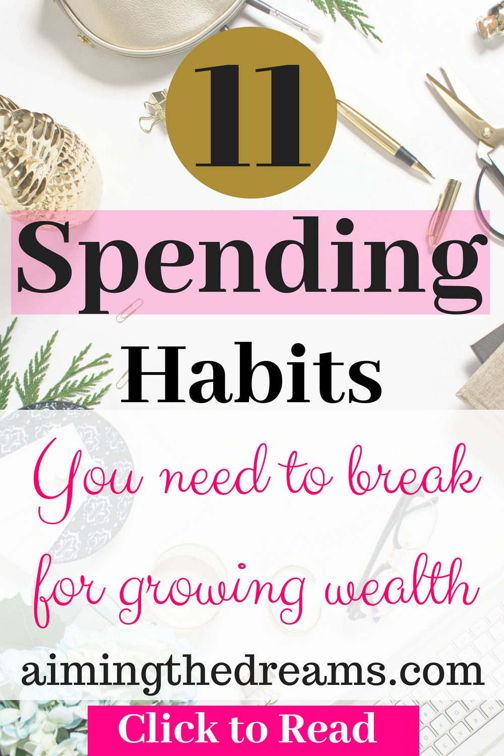Track spending habits and break the bad ones , replace them with new better saving habis. This will definitely help you in achieving your financial goals.