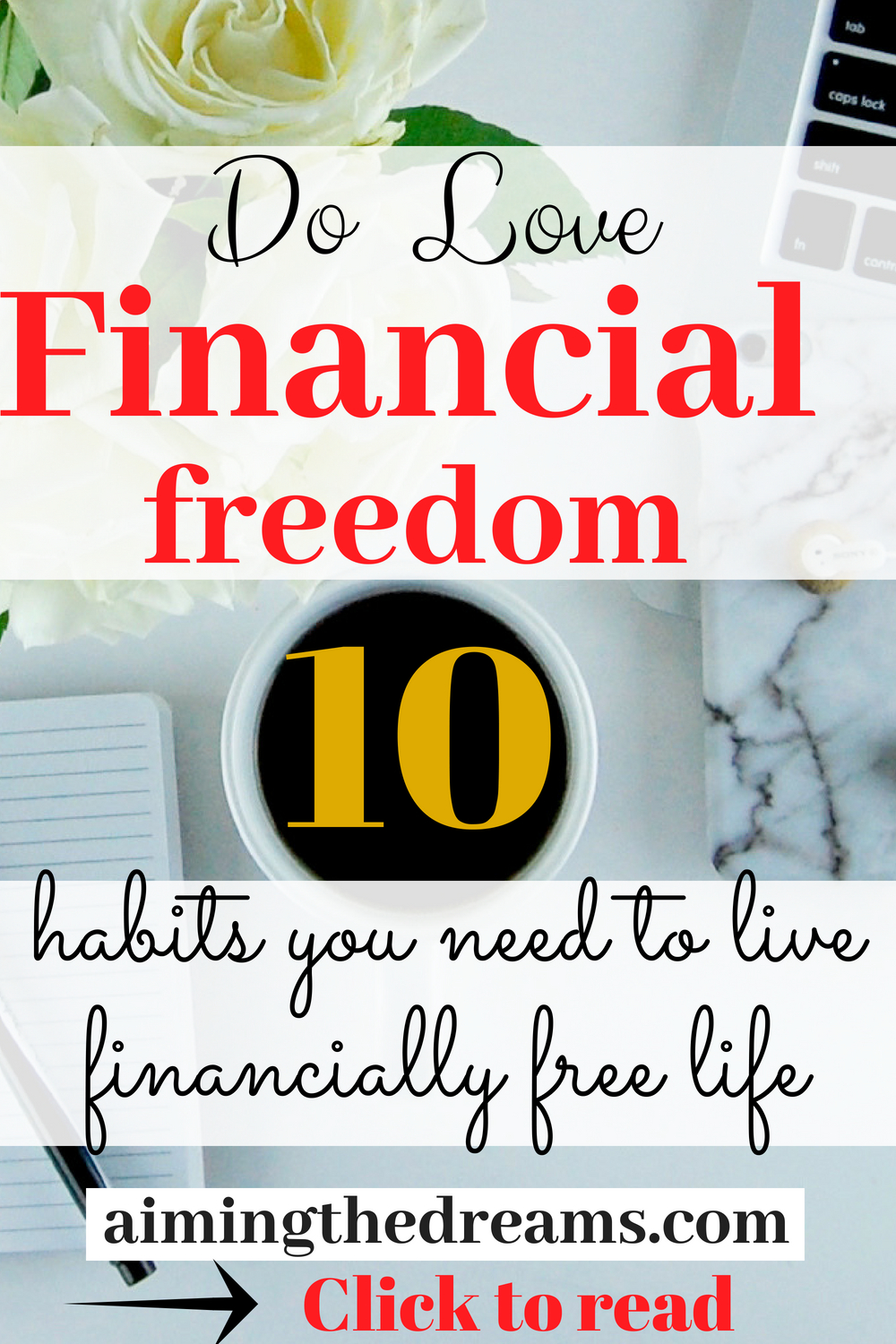 Everybody love financial freedom for which you need to change your financial habits. Learn those that make you grow your wealth.