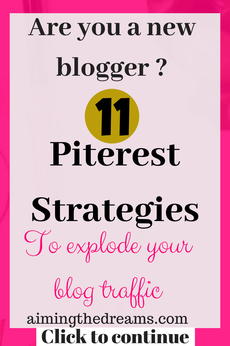 As a new blogger, it is difficult to get traffic. Social media comes to rescue and pinterest is a platform that helps in growing your blog traffic.