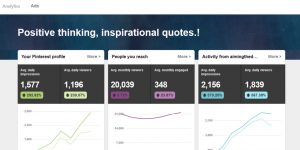 Analytics for business account