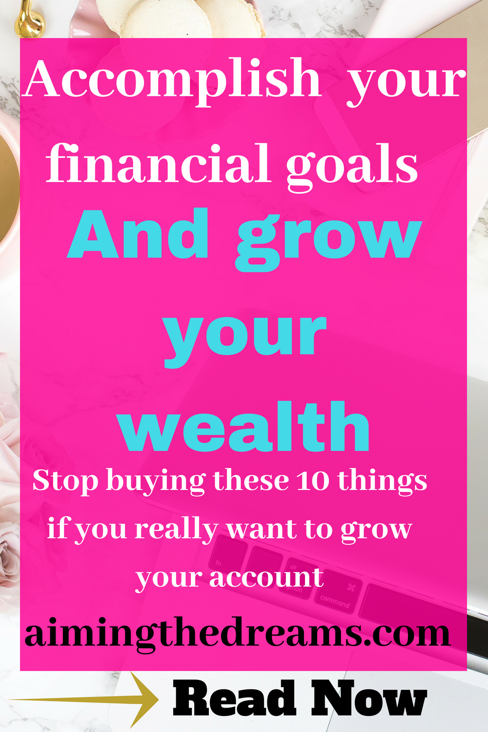 Grow your wealth by spending onlu on those things which you really need. Start looking at the difference between what you need and what you want. And only buy those things which are really good for growing your savings.