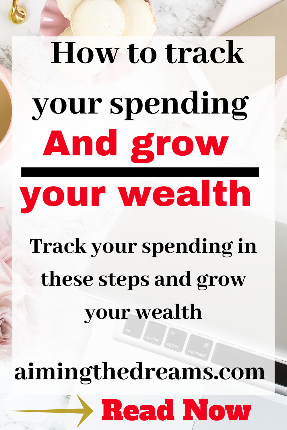 Grow your wealth by tracking your spending. Saving money becomes easy after you know here you are spending your money.
