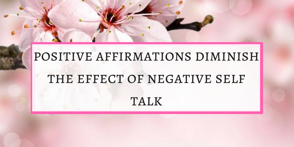Diminish self negative talk
