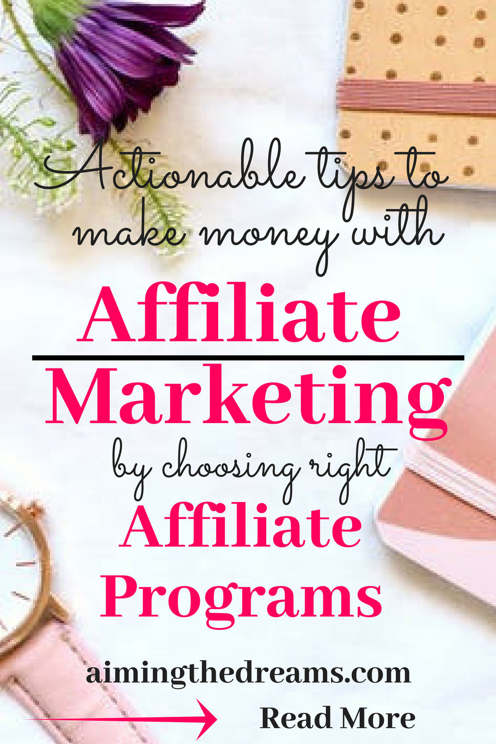 This is an affiliate link. Affiliate action plan is a perfect guide for beginners to learn #affilliate #marketing and start making #passive #income. Click to read.