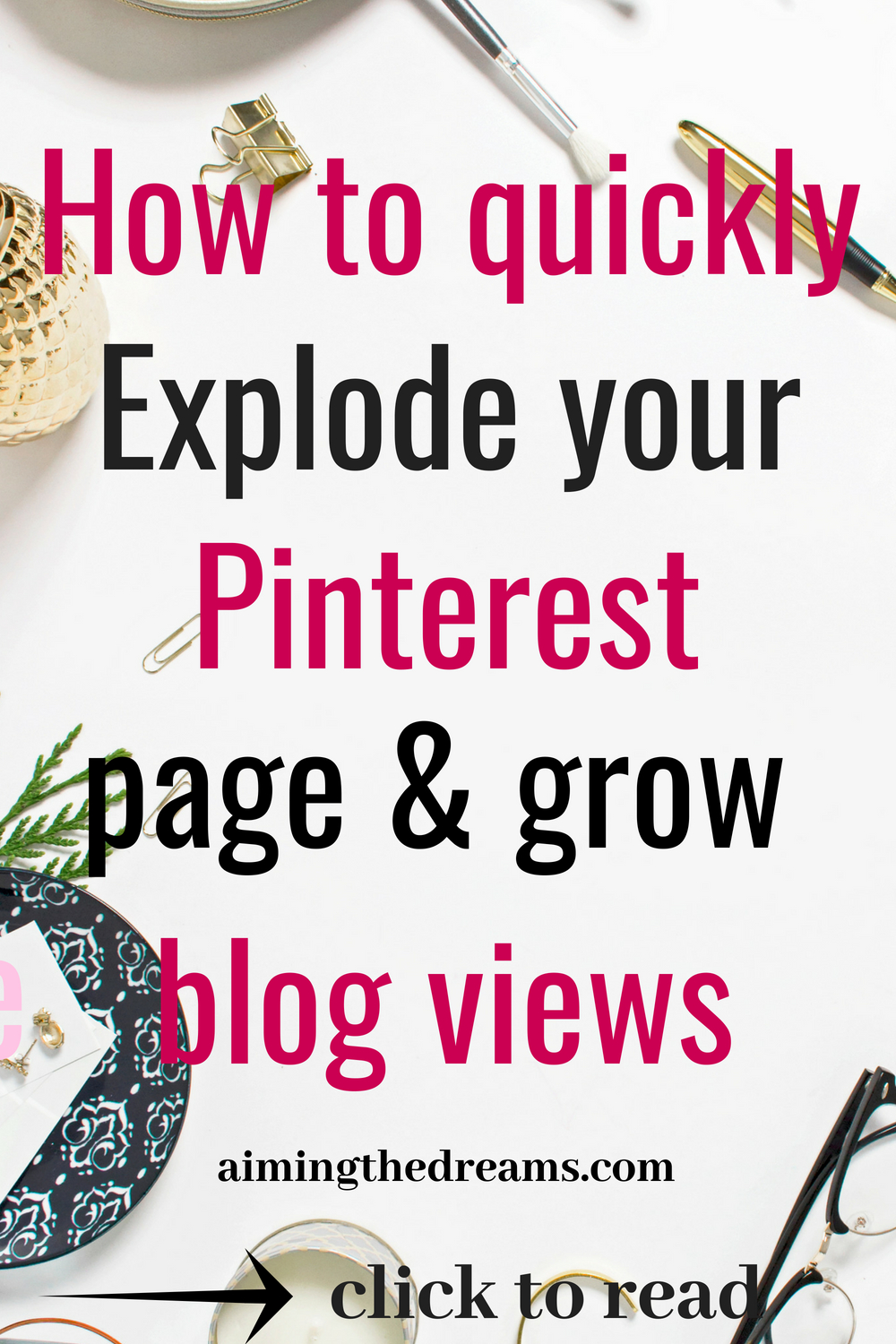 #How #to #grow #Pinterest #traffic and #increase #blog #views. This ebook will help you in mastering pinterest. Click to read.