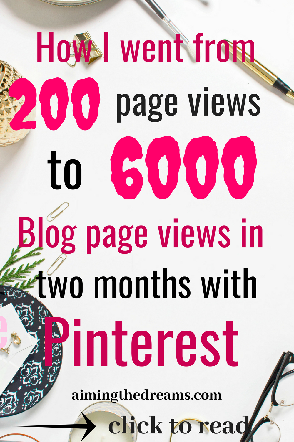 #Grow your #blog #traffic with #Pinterest. Pinterest is a goldmine of #traffic for new #bloggers. It helps in increasing #pageviews tremendously.