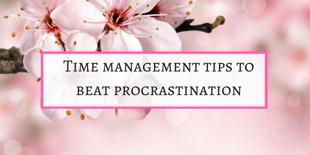 Time management strategies to beat procrastination