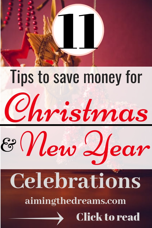 #Tips to #save #money for #christmas and #new #year #celebrations. Click to read