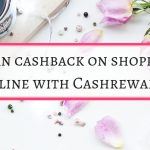 Earn  your cash back with Cashrewards