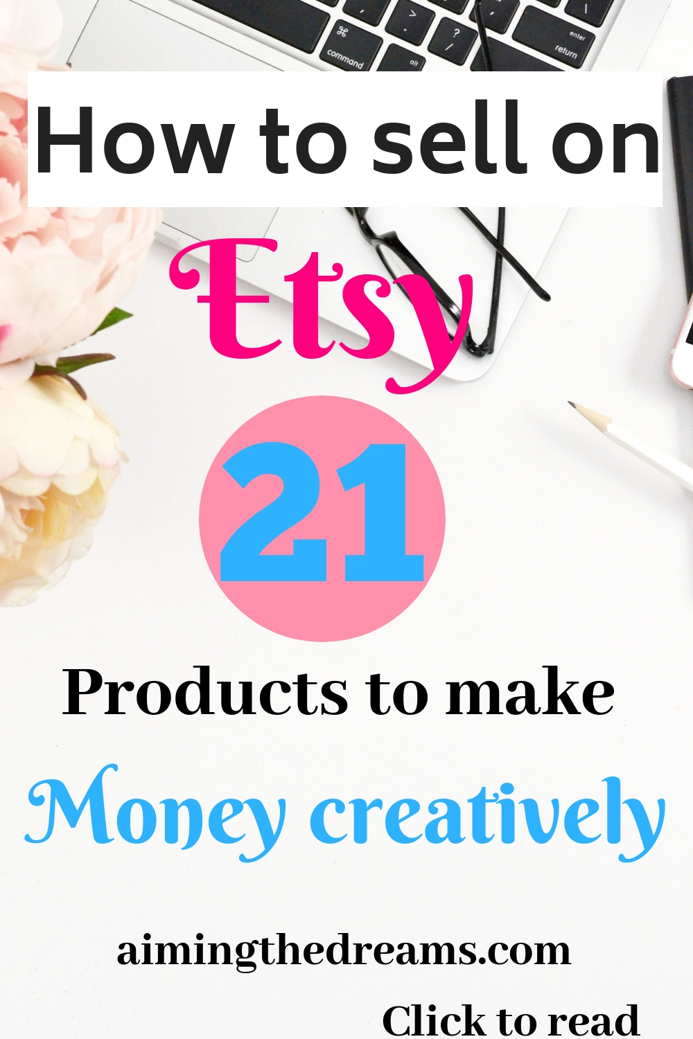 Etsy shop ideas to make money with your creaticity. click to read