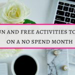 35 Fun activities to do in a No spend month