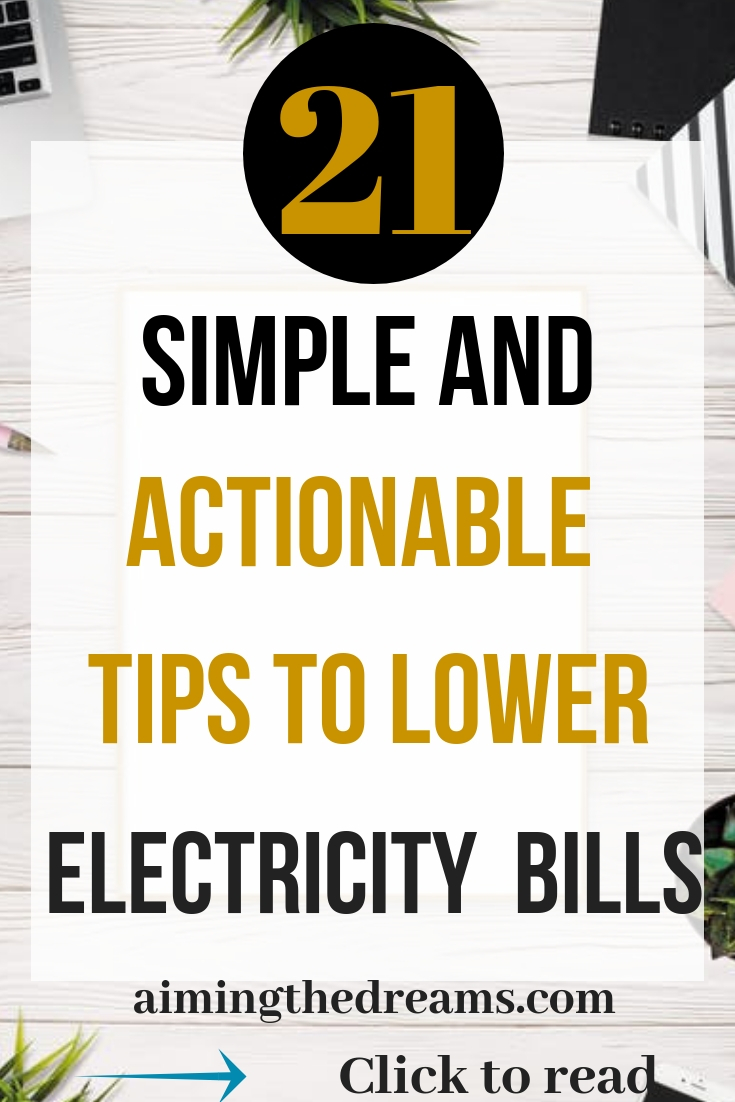 21 simple and actionable tips to save electriciy. Little changes in our day to day life can save you lot of money.Click to read.