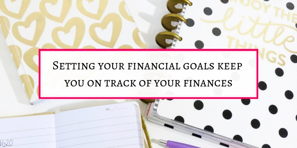 setting financial goals is an important financial habits