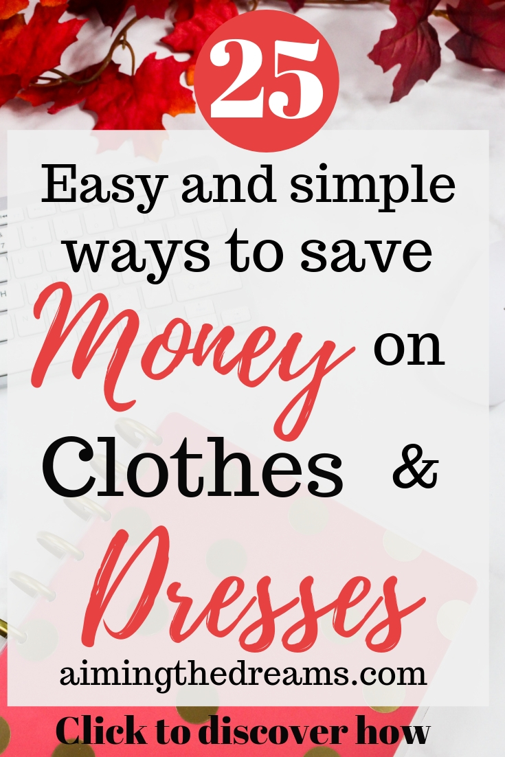 Easy and simple ways to save money on clothes and dresses to wear during celebrations. Click to read