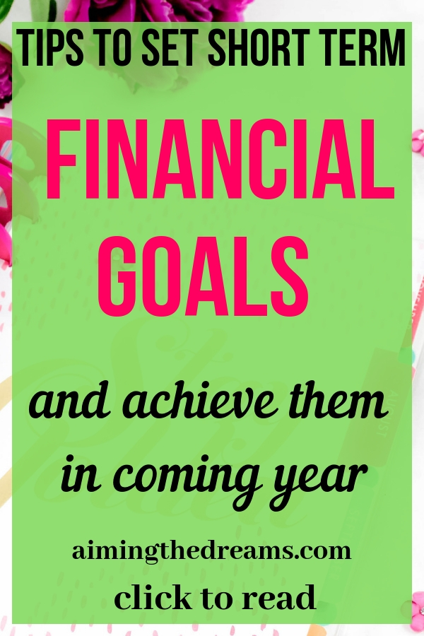 #Set your #financial #goals to #achieve them and secure your #financial #future. Click to read.