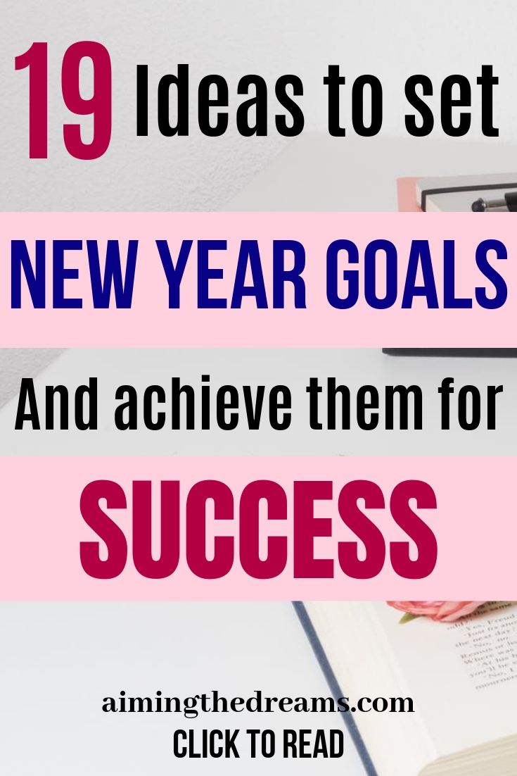 Ideas to set new year goals and achieve them for joyful life. Smart goals help in making goals concrete.