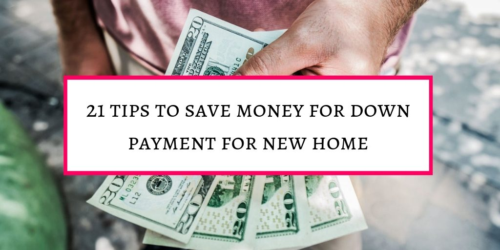 21 tips to save money for home loan dposit