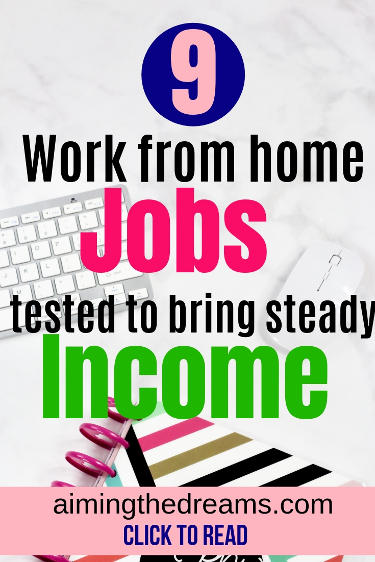 Work from home jobs, opportunities to earn money as #stayathome mum.