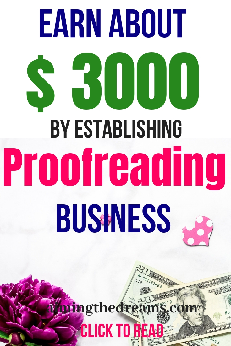Work as proofreader and work at home to earn #extramoney. Learn proofreading from #ProofreadAnywhere