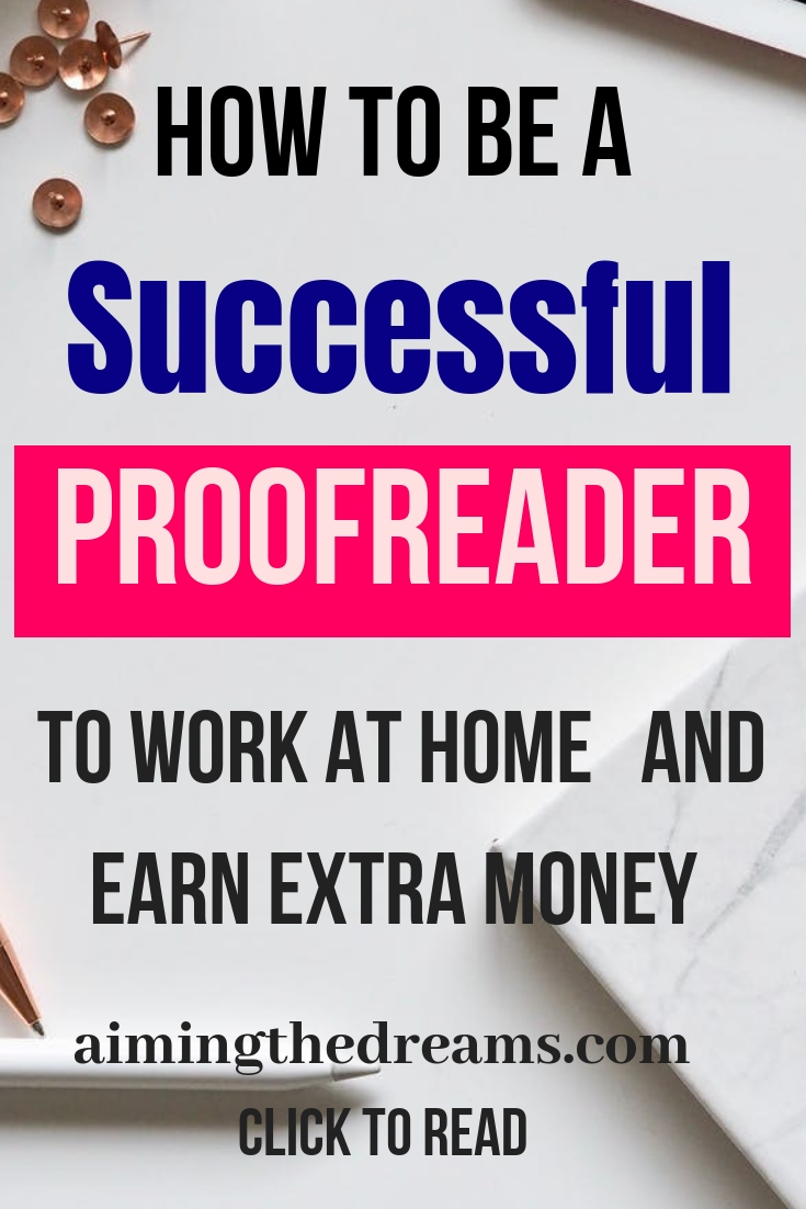How to be successful Proofreader with #Proofreader Anywhere by Caitlyn.