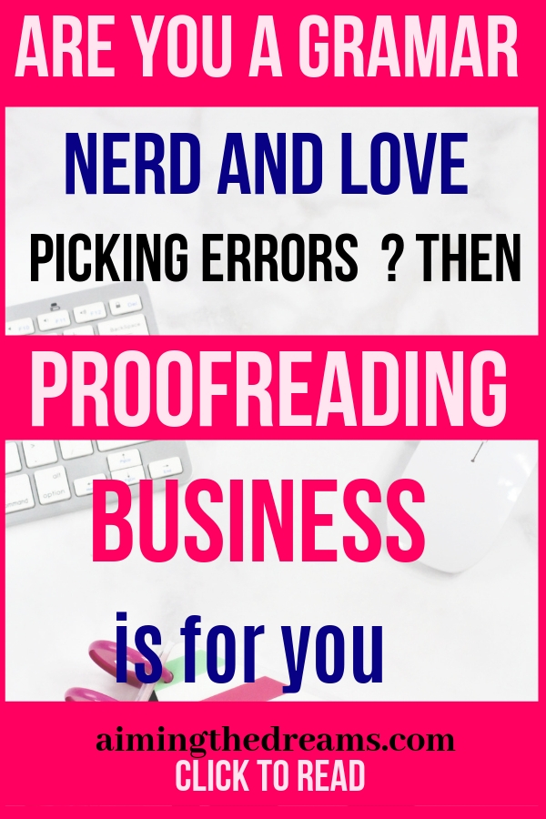 Learn to supplement your income with proofreading and hone your skills with Proofread anywhere course. Work at home and grow your business.