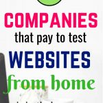 12 best companies pay money to test websites from home