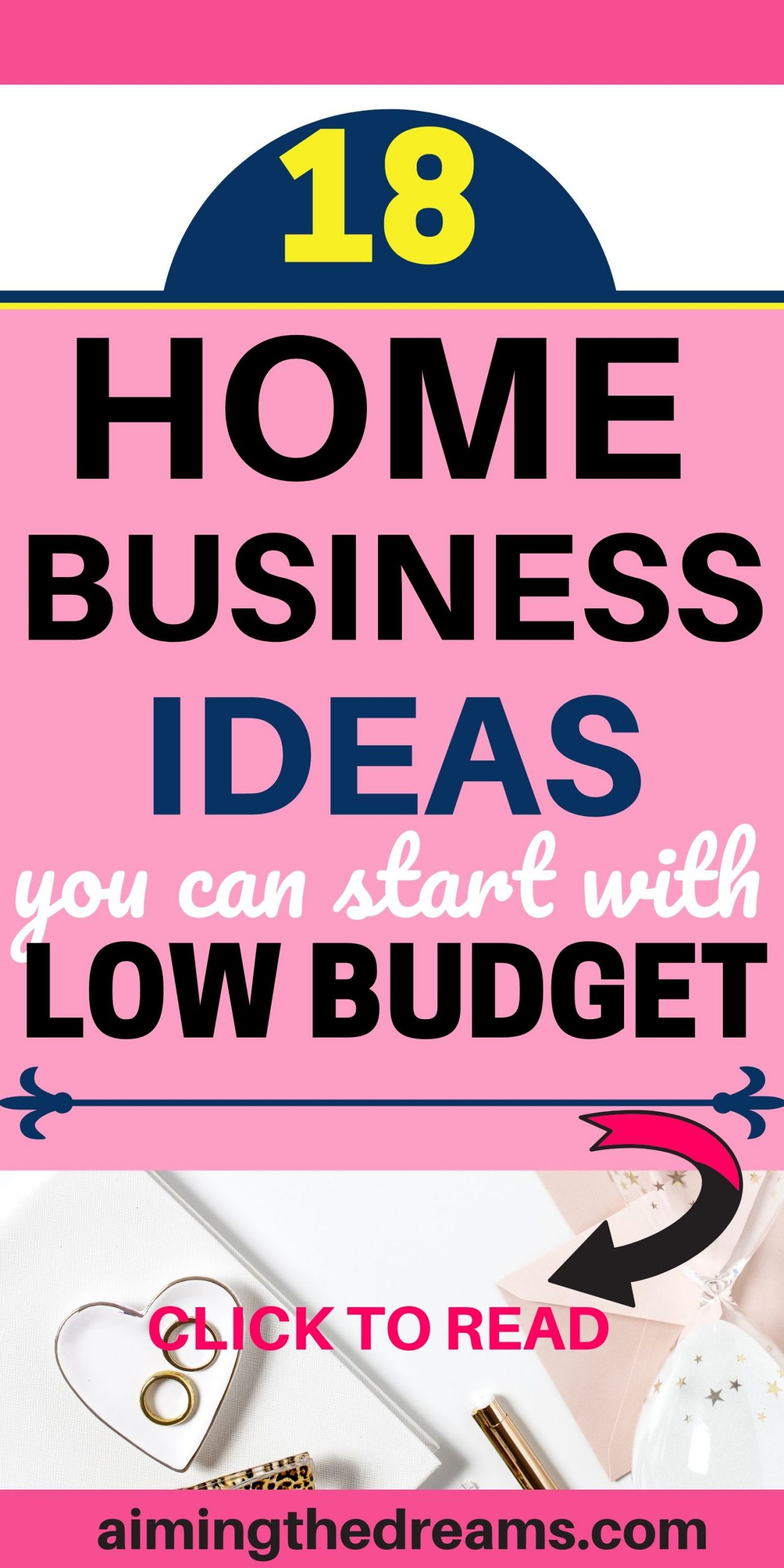 18 home business ideas you can start with low budget. Side hustle ideas let you make money and work from home.