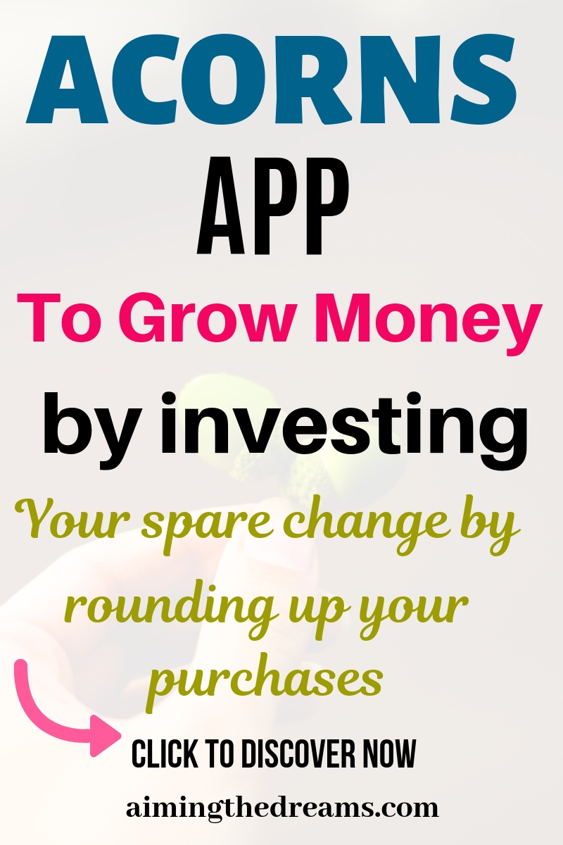 Acorns review to understand how investing your spare change can make you grow money gradually.