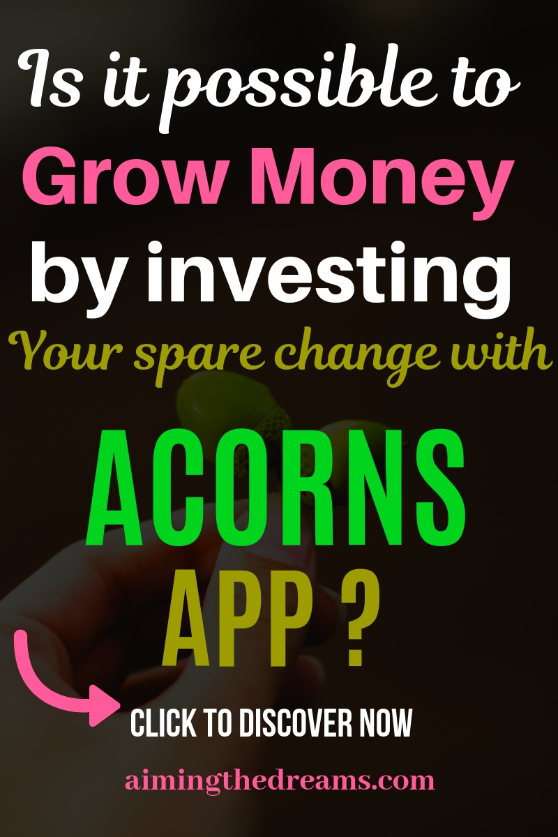 Acorns review to help you save your spare change in investing account. This app really a modern take on spare change.