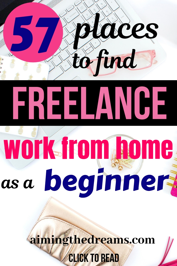 57 best places to find freelance work as a beginner