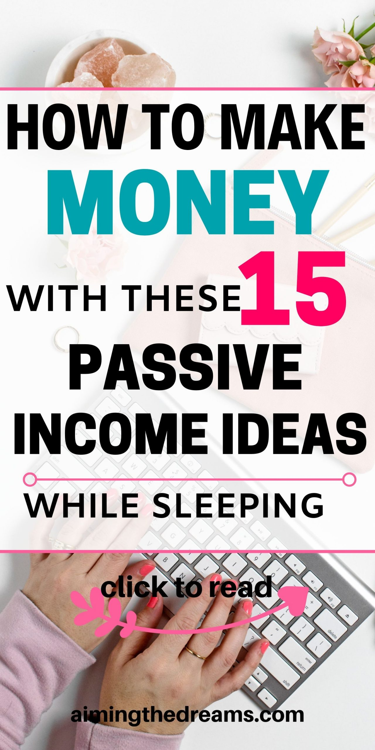 How to make money with passive income ideas while sleeping. Passive income generated with side hustles and investments is really good to grow wealth