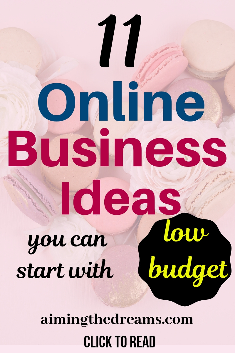 11 online business ideas you can actually start with no money . Side hustle ideas let you make money and work from home.