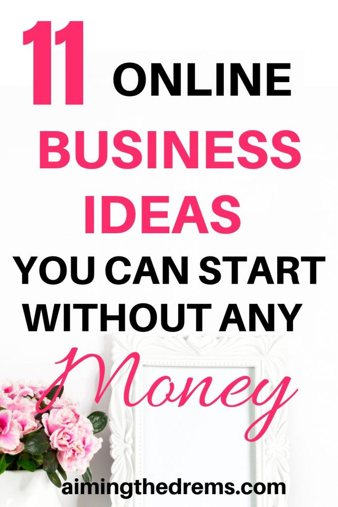 11 online business ideas you can start along with working full time and without much money