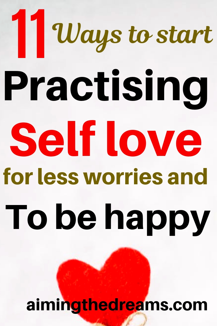11 ways self love can make you more happy. Start practising self love and see the difference.