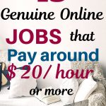 13 genuine online jobs that pay $20 an hour or more