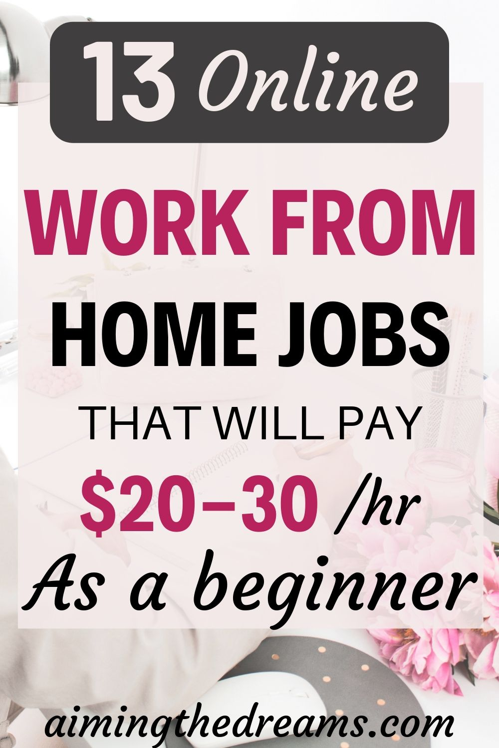13 genuine online jobs that can pay you $20 or more