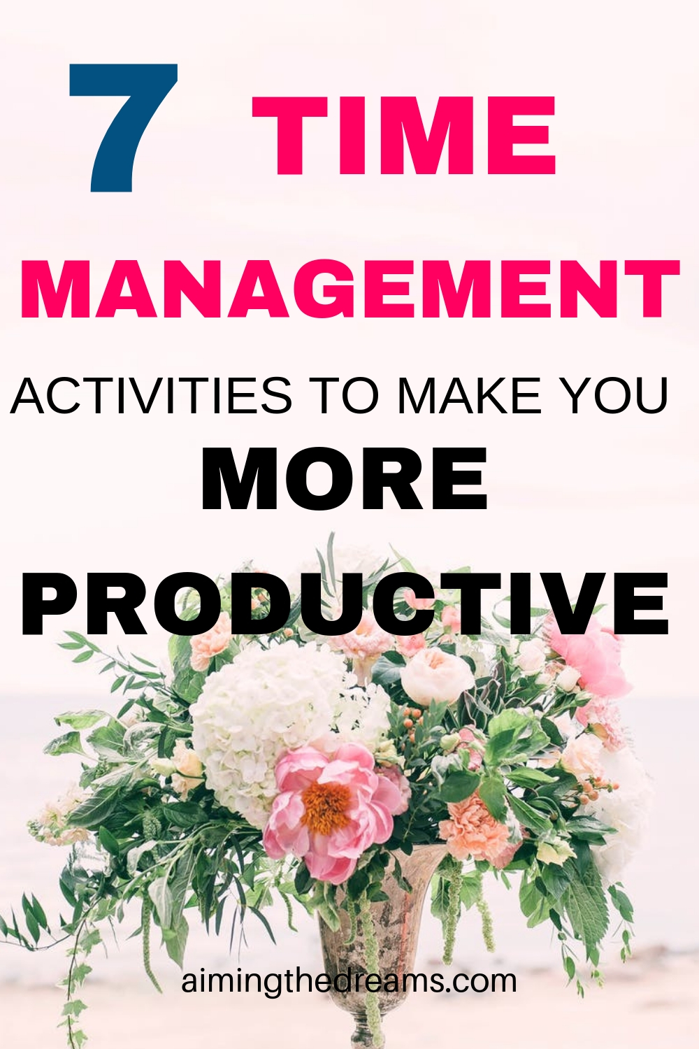 Time management activities to make you more productive and accomplish more in less time.