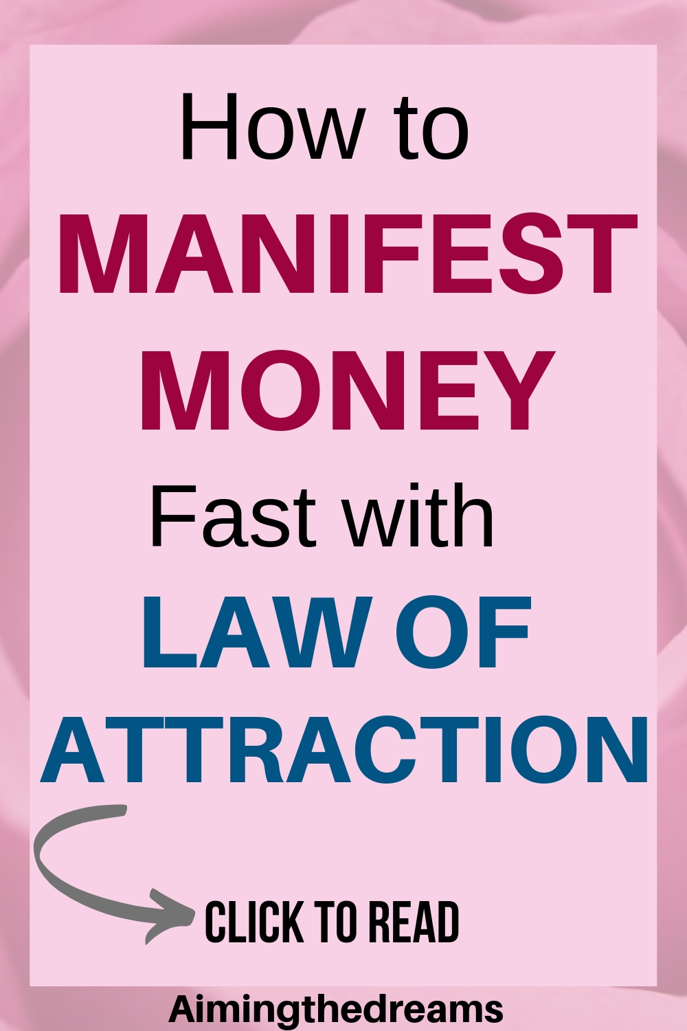 How to manifest money with law of attraction. Universe let you feel the vibrations you need for abundance.